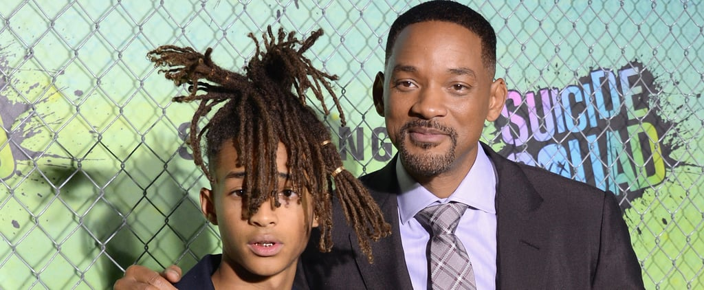 Will and Jaden Smith Are Complete Opposites at the World Premiere of Suicide Squad