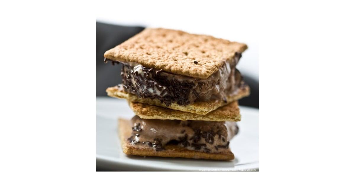 S'mores Ice Cream Sandwiches | Best Healthy Frozen