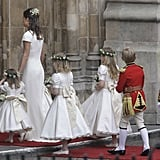 Pippa Wrangling the Pageboys and Flower Girls, 2011