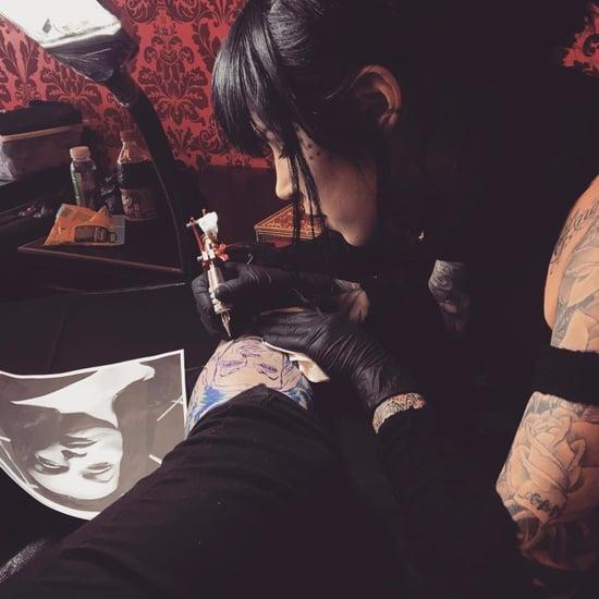 Kat Von D's Vampira Tattoo
