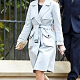 Princess Beatrice's Metal Stilettos