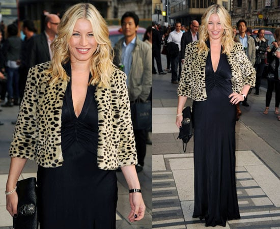 Pictures of Denise Van Outen at Wicked Press Night