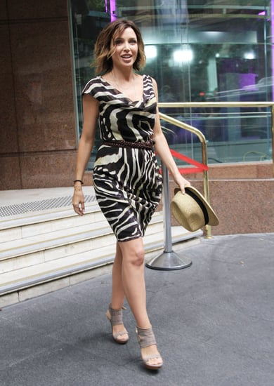 Pictures of Dannii Minogue in Sydney Ahead of Project D's Show at David Jones Fashion Parade