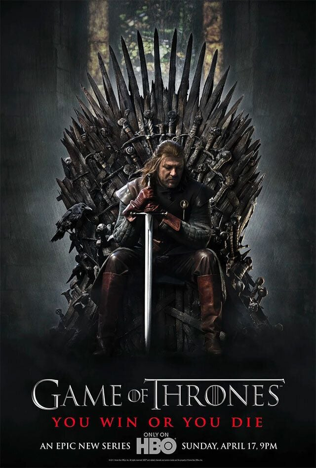 OK, What?! This Game of Thrones Poster Gave Away the Ending All the Way Back in Season 1