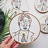 Dwight Schrute Embroidery Hoop