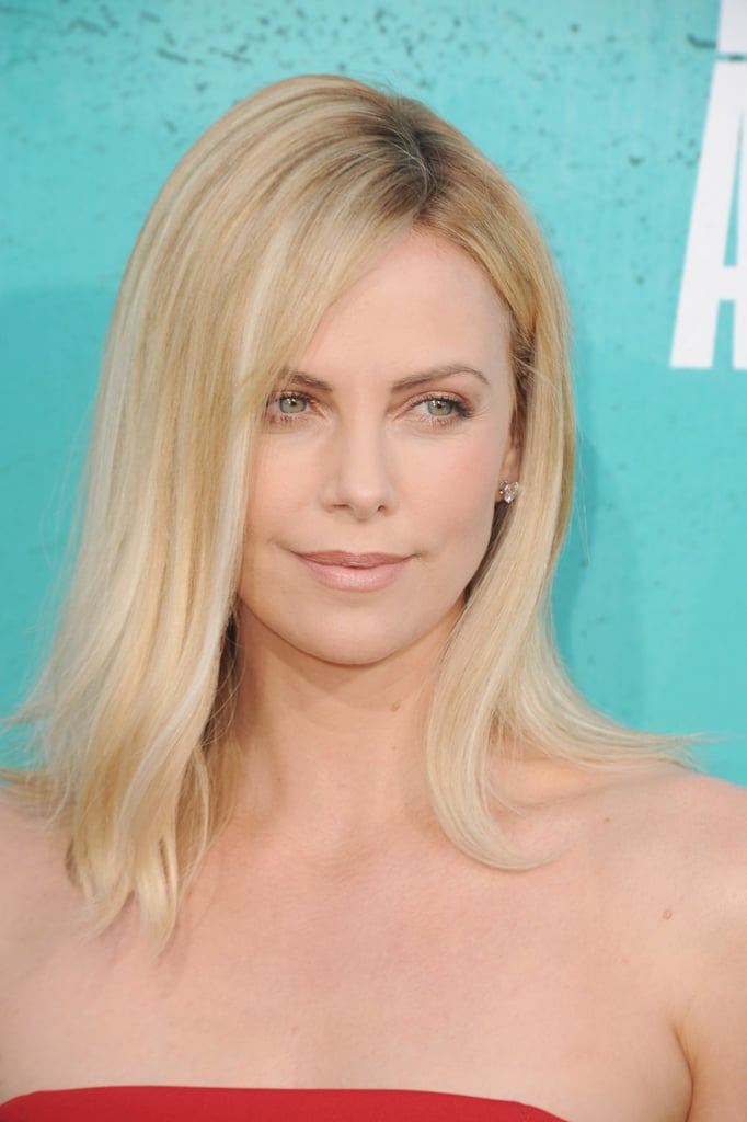 Charlize Theron at the MTV Movie Awards.
