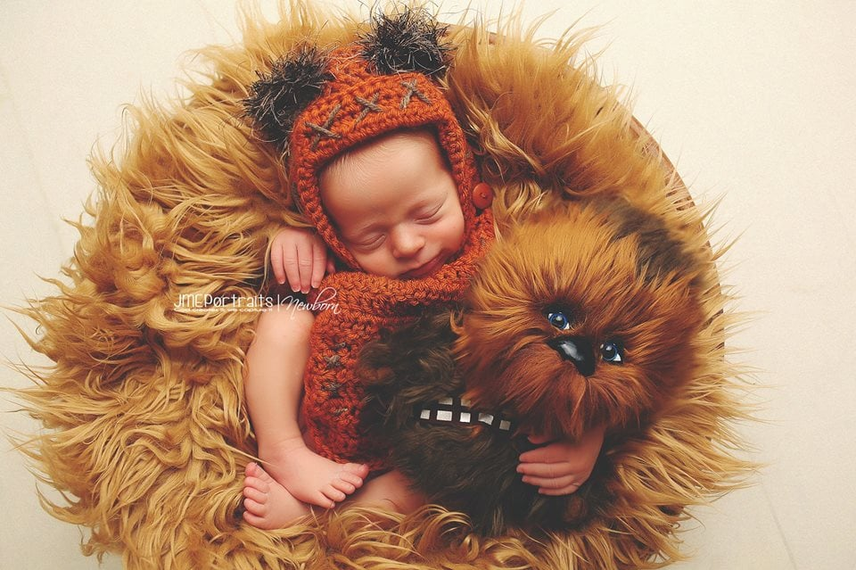 Chewbacca couldn't have asked for a better friend