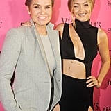 Yolanda and Gigi Hadid