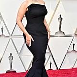 Ashley Graham Wearing a Zac Posen Dress
