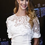 Rosie Huntington-Whiteley in Dolce & Gabbana for Transformers: Dark of the Moon.