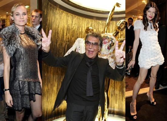 Behind the Seams: Roberto Cavalli Paris Store Opening
