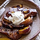 Grilled Peaches and Cream French Toast