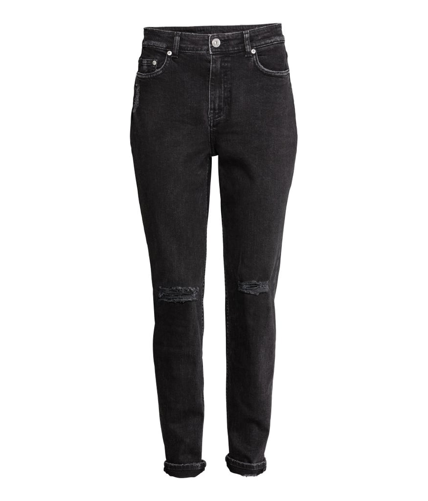 H&M Boyfriend Slim Low Jeans