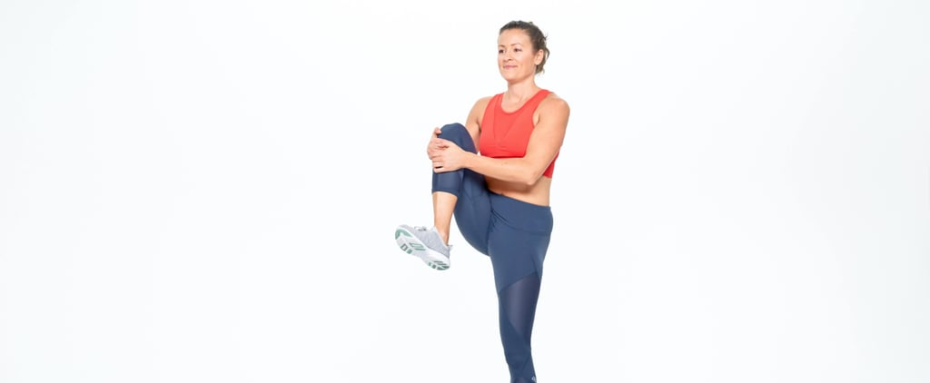 "Fix Your ""Stuck-at-My-Desk"" Stiffness With This Standing Stretch"