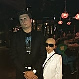 Security Guard and Pitbull