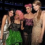 2011: She Hung Out With Selena, Nicki Minaj, and Katy Perry