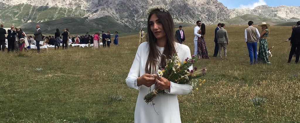 This Bride Got Married in the Gorgeous Italian Countryside, But Her Wedding Dress Stole the Show