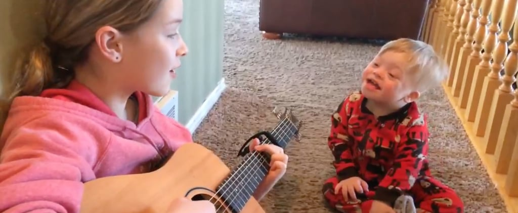 Girl Sings Sunshine Duet With Brother With Down Syndrome