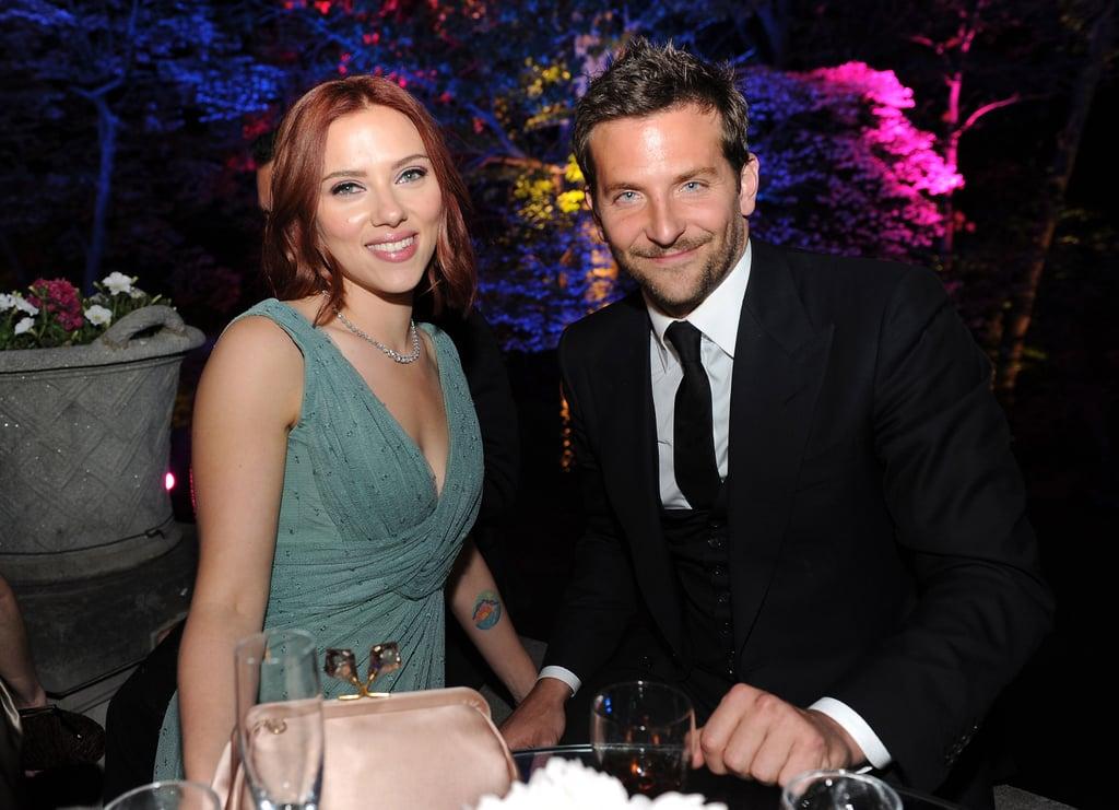 Scarlett Johansson and Bradley Cooper