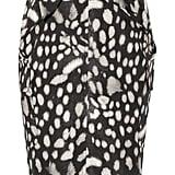 Max Mara Leopard Print Skirt