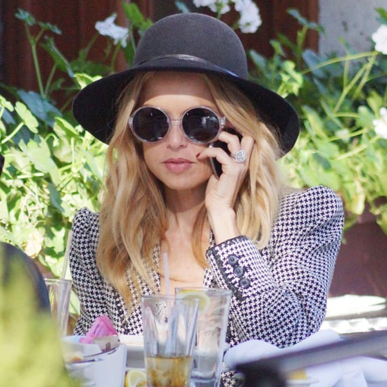 Rachel Zoe Walking in LA With Mandana Dayani Pictures