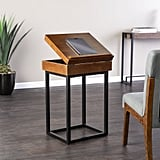 Holly and Martin Cayson Storage Lift-Top Side Table
