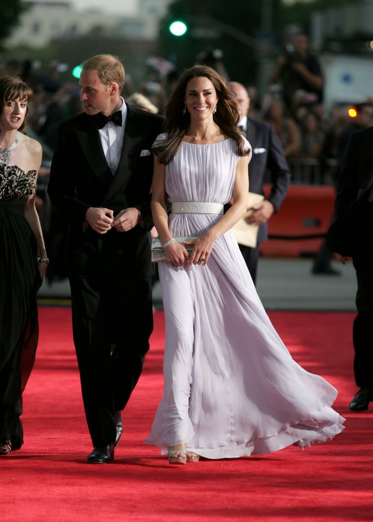 Kate Middleton and Prince William hosted a BAFTA event during their trip to LA in July 2011.