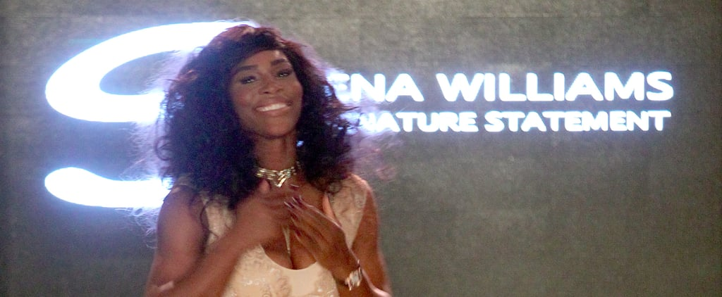 Serena Williams Channels Beyoncé at Her Woman-Power NYFW Show