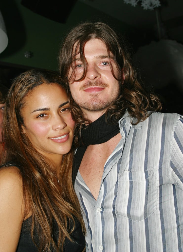 Paula Patton and Robin Thicke in 2002