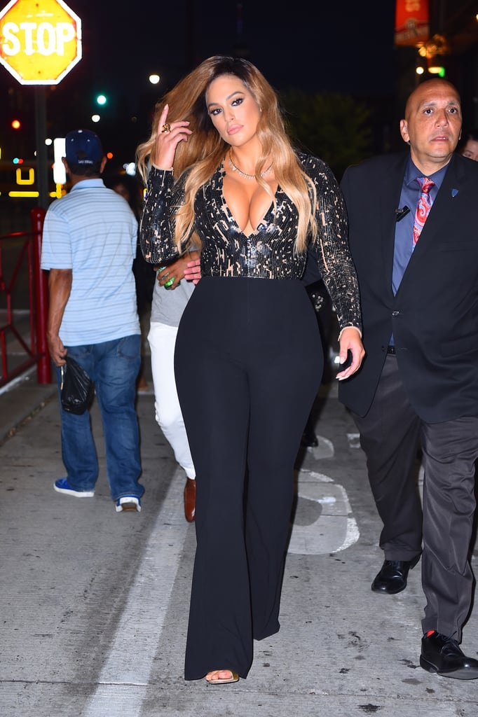 Ashley Graham Out in NYC August 2016
