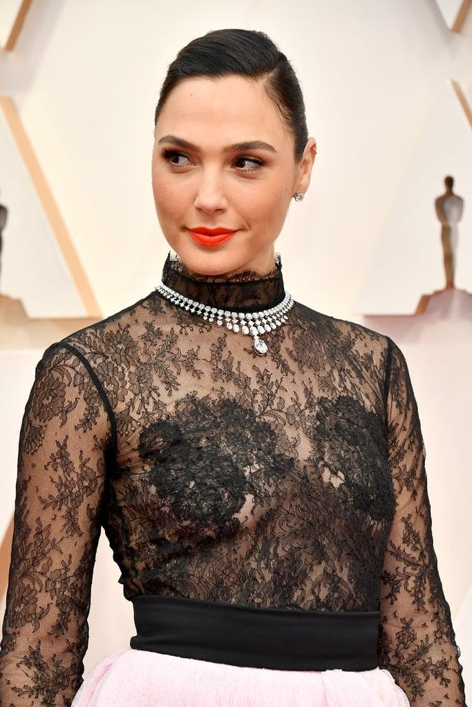Oscars Statement Necklaces 2020 Popsugar Fashion