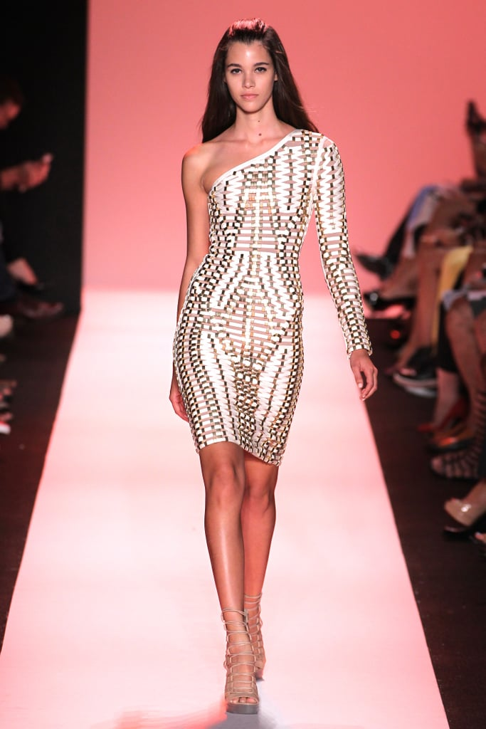 51786c910cfa Herve Leger Spring 2015 New York Fashion Week Runway Show