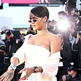 Rihanna's Futuristic Andy Wolf Eyewear Sunglasses and Jewelry From Her Chopard Collection