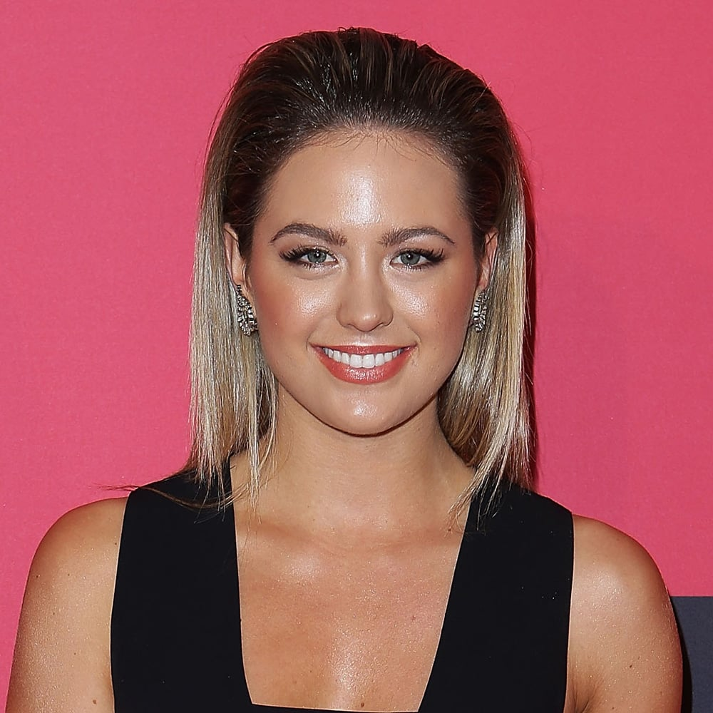 For The Heat premiere in Sydney, Jesinta slicked it back and looked divine.