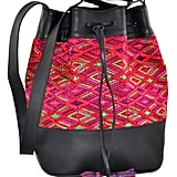 Huipil Bucket Bag ($240)