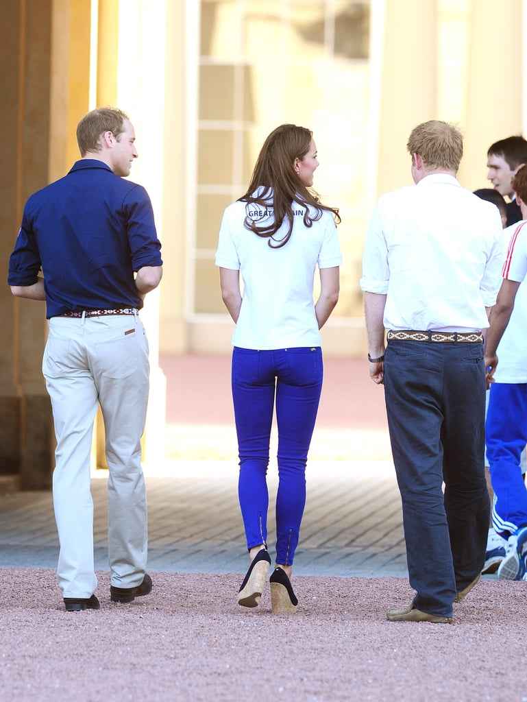 Harry, William, and Kate were all ambassadors for Team Great Britain.