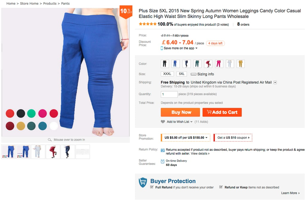 You'll Be Shocked at How This Brand Advertises Plus-Size Trousers