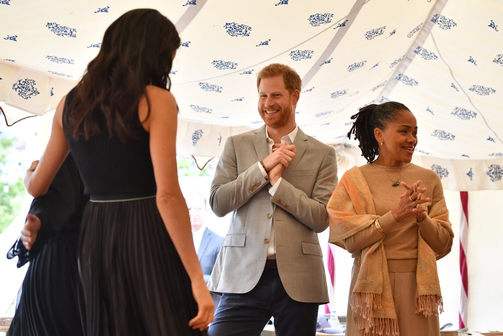 When He Reacted Like This to Meghan's First Royal Speech