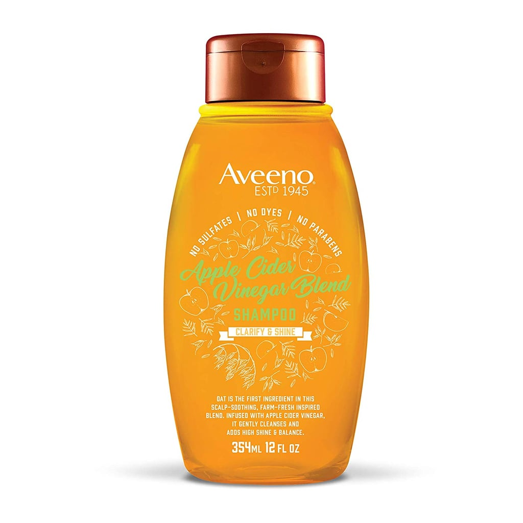 Aveeno Scalp Soothing Apple Cider Vinegar Blend Shampoo for Clarify and Shine