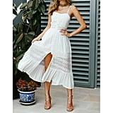 Zaxarra Boho Lace Dress