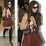 Nina Dobrev showed us why she was voted Breakout Fashion Star of 2012 with her effortless travel style.