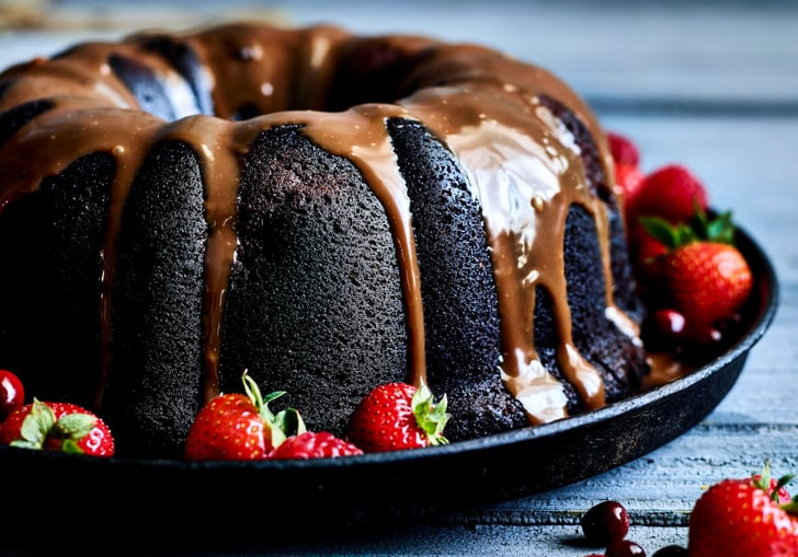 Mixed Berry Bundt Cake