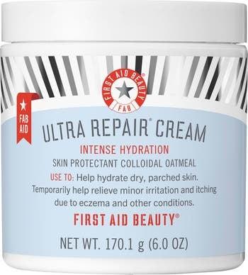 First Aid Beauty Ultra Repair Cream Intense Hydration Face & Body Moisturizer