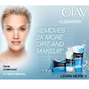 Be Prepared For Anything With Olay Facial Cleansers