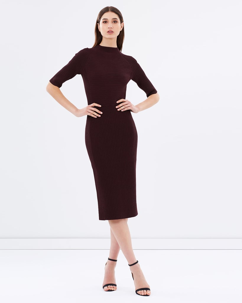 958777d6ebda Ottoman Knit Dress with Sleeves, $599 | Where to Buy Knitted Dresses ...