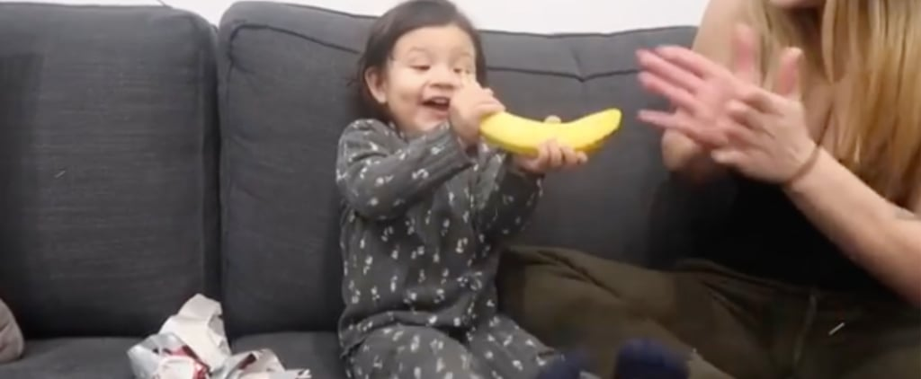 Viral Video of Parents Giving Toddler a Banana For Christmas