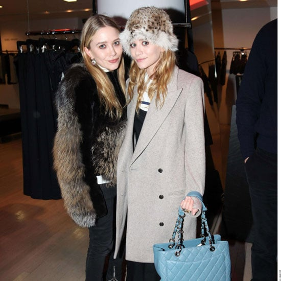 Pictures of Mary-Kate and Ashley Olsen at Barneys