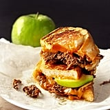 Pulled Pork and Apple Grilled Cheese