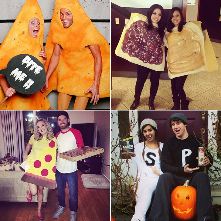 food halloween costume ideas for couples popsugar food - Halloween Costumes Idea For Couples