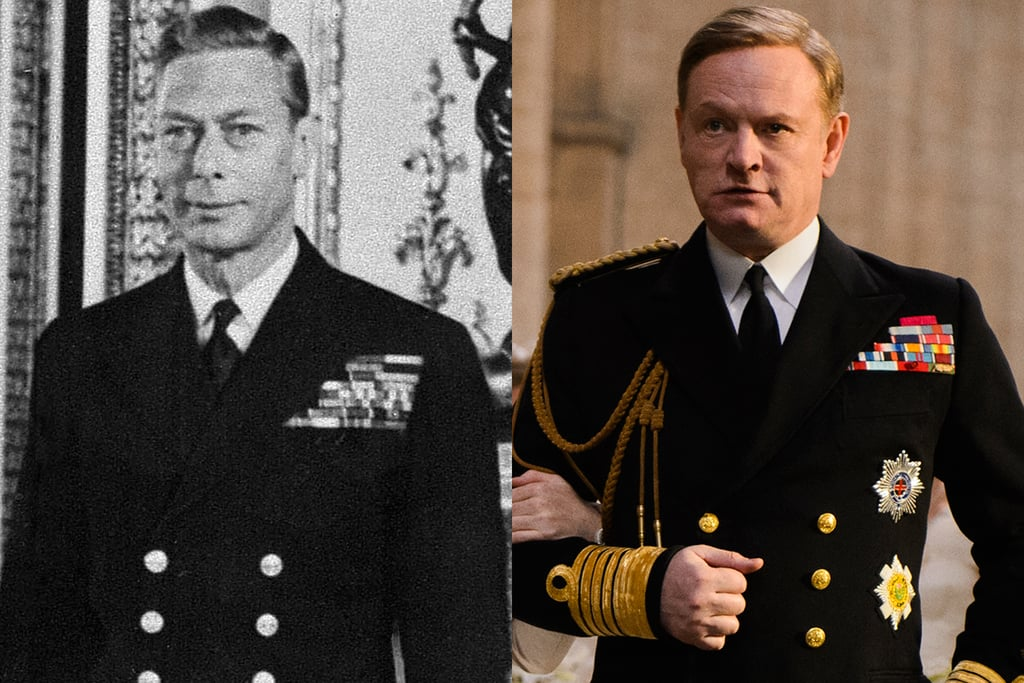 King George VI and Jared Harris